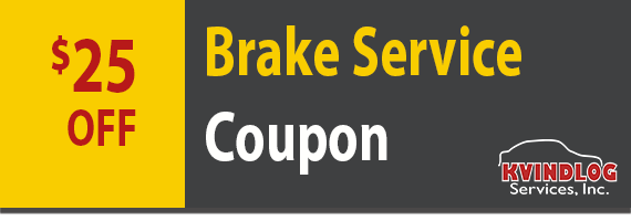 $25 off brake service coupon