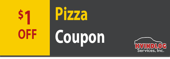 $1 coupon for pizza